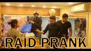 RAID PRANK FIRST TIME IN INDIA | PRANK IN INDIA | BY VJ PAWAN SINGH
