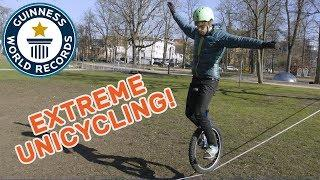 Lutz Eichholz: Extreme Unicycling - Meet The Record Breakers Europe