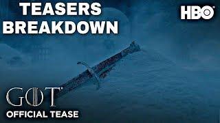 Official Season 8 Teaser & Trailers Breakdown! - Game of Thrones Season 8 Trailer