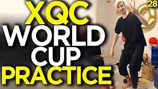 xQc World Cup Entrance Practice - Overwatch Funny Moments 28