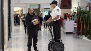 Fake Mall Cop Prank!