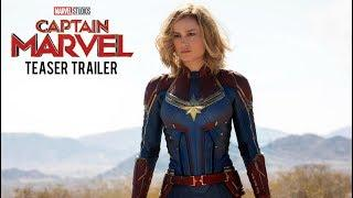 CAPTAIN MARVEL - Teaser Trailer (2019) Brie Larson, Samuel L. Jackson Movie | Marvel Studios Concept