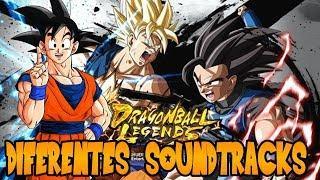 Asi Se Vería DRAGON BALL LEGENDS Con Soundtracks De Otros Juegos | Montaje Latino | DBL