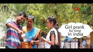 Girl prank || fevikwick bottle prank || pranks in india || warangal team trenders