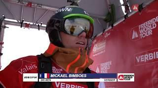 Winning run Mickael Bimboes - FWT18 Xtreme Verbier Switzerland