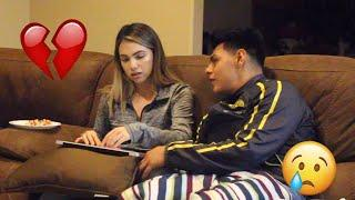 BREAK UP PRANK ON GIRLFRIEND!!! **GONE WRONG**