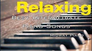 Relaxing Intermediate Piano Songs | Game Soundtracks + Free Sheets