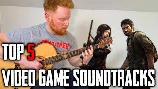 TOP 5 VIDEO GAME SOUNDTRACKS ON FINGERSTYLE ACOUSTIC GUITAR YouTube