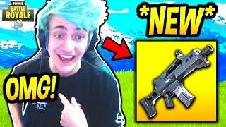 NINJA REACTS TO *NEW* G36C ASSAULT RIFLE! REPLACING SCAR!? Fortnite SAVAGE & FUNNY Moments
