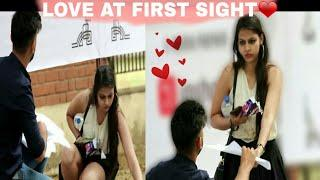 पहली नजर में प्यार???? | LOVE AT FIRST SIGHT PRANK IN IIT KANPUR | PRANKS IN INDIA 2018