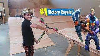 BEST FORTNITE PICKAXE (WITH SCOOTER PARTS)