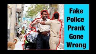 Bike chor (fake police) prank gone wrong||pranks in India||by Amit and ravi||2019||AR jatav's