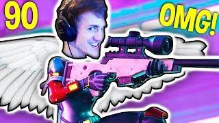 NINJA NO SCOPE SKILL! Fortnite Daily Best Funny Moments 90