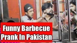 Chicken Barbecue BBQ Prank | Pranks In Pakistan | Humanitarians |