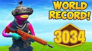 *WORLD RECORD* 3034 POINTS IN RANKED ARENA! - Fortnite Funny Moments! #568