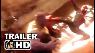 "AVENGERS: INFINITY WAR ""Spiderman Fights Thanos"" TV Spot Trailer NEW (2018) Marvel Superhero Movie"