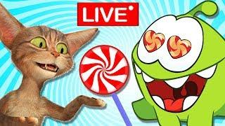 Om Nom Stories : The Journey Begins ! Funny Hindi Cartoon For Kids  | Cut The Rope Live????