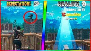 Expectations VS Reality (Fortnite Funny FAILS & WINS Compilations #41)