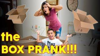 MOM VS SON REVENGE!! **BOX PRANK**
