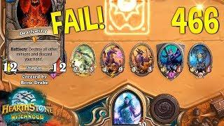 HEARTHSTONE Best Daily FUNNY and WTF Moments !! #466