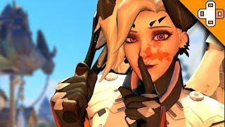 Mercy is a Bloody MURDERER! Overwatch Funny & Epic Moments 674