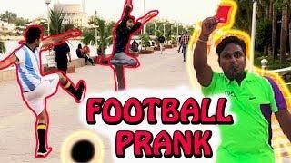 FOOTBALL PRANK IN PUBLIC   FIFA 2018   PRANKS IN INDIA   Natkhat Shady