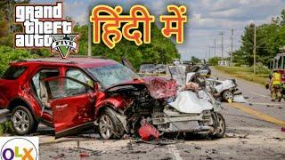 Ultra High Graphics #GTA5   #Desi #Accident #Sports #Car #Sasti #Kaluwa   1080p 60fps 2019