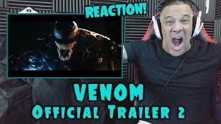 VENOM - Official Trailer 2 REACTION
