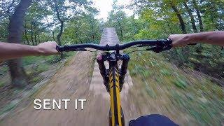 First Time Riding Downhill MTB (GoPro)