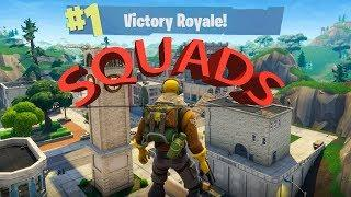 FORTNITE BATTLE ROYALE:  SQUADS RULE!