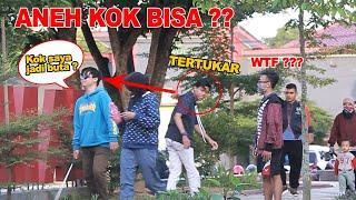 AJAIB!!! prank buta bisa tertukar dan berantem seperti kucing - Prank Indonesia - cupstuwerd