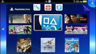 PlayStation Vita Soundtracks ~ The PlayStation Store Theme