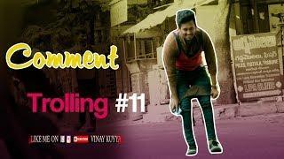 Asking Whatsapp Number to Girls | Comment Trolling Prank#11 in Telugu | Crazy Dares | Vinay Kuyya