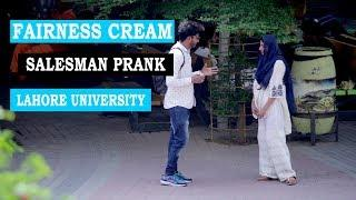 Fairness Cream Salesman Prank Part 2 in University Of Lahore - Lahori PrankStar