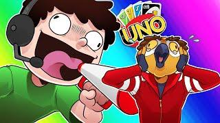 Uno Funny Moments - Hit With +12 and Nogla is LOUD!!