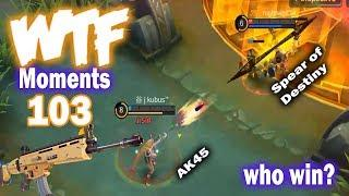 Mobile Legends WTF Moments 103 Fans Compilation Funny Savage