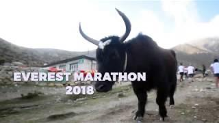 Everest Marathon 2018 - high altitude adventure sports