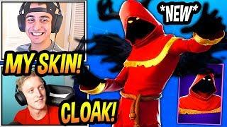 "Streamers React To *NEW* ""Cloaked Shadow"" Skin! (CLOAKZY SKIN!) Fortnite FUNNY & EPIC Moments"