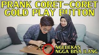 PRANK CORET-CORET GOLD PLAY BUTTON ! GONE WRONG :(