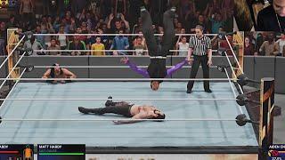 WWE 2K19 EXTREME RULES - Jeff Hardy vs Aiden English  w/ Matt Hardy (WWE 2K19 Xbox One Gameplay)