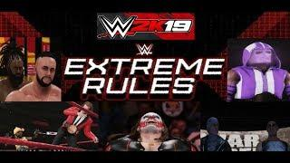 WWE 2k19 Extreme Rules Part 2 (Crazy Ending)