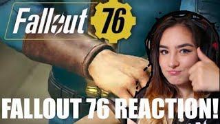 Fallout 76 TEASER TRAILER REACTION!