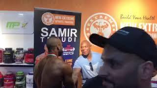FLEX WHEELER IN DUBAI MUSCLE SHOW @ NEW EXTREME SPORTS TRADING L.L.C