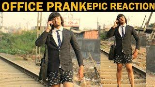 OFFICE PRANK FIRST TIME IN INDIA | PRANK IN INDIA | BY VJ PAWAN SINGH