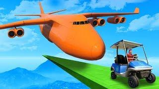 One GIANT PLANE vs One Small Buggy! - GTA 5 Funny Moments