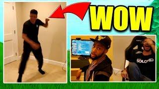 MYTH DANCES IN *NEW* TSM GAMING HOUSE - Fortnite Op & Funny Moments
