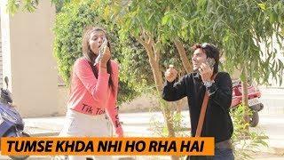 Khda Kar Do Prank With Cute Girls | Fake Address Asking Prank | PRANK IN INDIA 2019 | Public Review