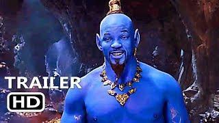ALADDIN New Teaser Trailer (2019) Will Smith, Disney Movie