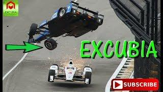 EXTREME RACE CAR CRASHES (RALLY SLIDES, INDY CAR, FORMULA 1, AUSTRALIAN V8)