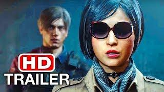 RESIDENT EVIL 2 REMAKE Ada Wong Trailer NEW (TGS 2018) PS4/Xbox One/PC